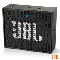 Caixa Bluetooth JBL GO Black com Potência de 3 W
