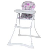 Cadeira para Refeição Burigotto Bon Appetit XL Patchwork Rosa