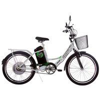 Bicicleta Track Bikes Aro 24 TKX Citi Branca Verde e Cinza