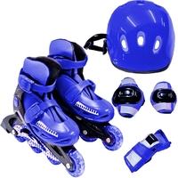 Kit Patins Bel Sports Radical Roller 365100 P 30-33