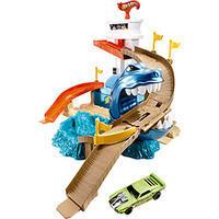 Pista Hot Wheels Mattel Color Change BGK04 Ataque Tubarão
