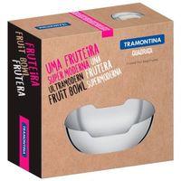 Fruteira e Saladeira Tramontina Quadrata Aço Inox Brilho 4.09 Litros