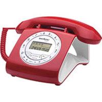 Telefone Intelbras TC8312 Vermelho