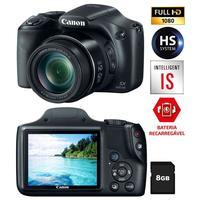 Câmera Digital Canon Powershot SX520HS 16.0MP + Cartão de 8GB