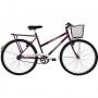Bicicleta Verden Bikes Jolie 6 Marchas Aro 26 Violeta e Branco