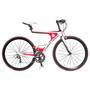 Bicicleta Ferrari Aro 700 18 Marchas Branca