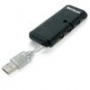 Hub Multilaser AC064 USB 2.0 4 Portas Preto