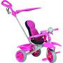 Triciclo Infantil Bandeirante Smart Comfort Pink