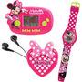Conjunto Candide Minnie Mini Game + Rádio FM + Relógio