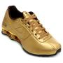 Tênis Nike Shox Deliver Masculino Dourado