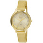 Relógio de Pulso Dumont DU2035LOC/4D Feminino Analógico Dourado
