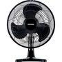 Ventilador de Mesa Ventisol Eco Premium Oscilante 30cm Preto 3 Velocidades