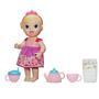 Boneca Baby Alive Hasbro Hora do Chá Loira