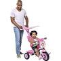 Triciclo Passeio Soft Bandeirante Rosa