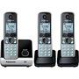 Telefone Panasonic KX-TG6713LBB + 2 Ramais