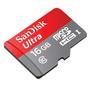 Cartão de Memória SanDisk 16GB + 1 Adaptador SD SDHC e SDXC