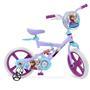 Bicicleta Bandeirante X-Bike Frozen Aro 14 Lilás