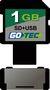 Cartão de Memória e Pen Drive Leadership Gotec SD+USB 1GB 3701