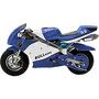 Mini Moto Bull Motors Speed BK-R6 49CC 2T Azul