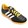 Chuteira Adidas Gloro 16.2 TF Society Masculina Preta e Amarela
