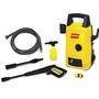 Lavadora de Alta Pressão Doméstica Acqua1200 Intech Machine 1450 Libras Amarela e Preta 110V