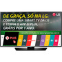 "Smart TV LED 43"" LG Conversor Digital 43LF6350"