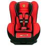 Cadeira Para Auto Ferrari Red Cosmo SP 399256 Vermelha e Preta
