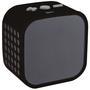 Caixa de Som Cubo Sem Fio Leadership com Microfone Bluetooth Preta