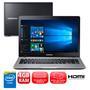 Notebook Samsung Essentials E21 370E4K-KWA Dual Core 1.5GHz 4GB 500GB Windows 10