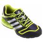 Tênis Adidas Cosmic Q Masculino Azul Marinho e Verde Limão
