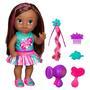 Boneca Hasbro Baby Alive Cabelos Fashion Morena