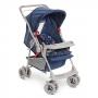 Carrinho de Bebê Galzerano Milano Reversível Nautico Azul