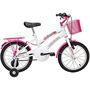 Bicicleta Verden Breeze Aro 16 Branco e Rosa