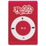 MP3 Player Red Nose Girls 4GB Vermelho