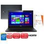 Notebook Lenovo L40-30 Dual Core 1.8GHz 4GB 500GB Windows 8.1 + Microsoft Office 365 Personal