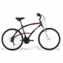 Bicicleta Caloi 100 Sport Passeio 21 Marchas Aro 26 Preta