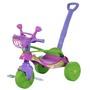 Triciclo Biemme Smile Confort com Empurrador Rosa