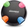 Hub Maxprint 4 Portas USB 2.0 Preto e Colorido