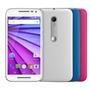 Smartphone Motorola Novo Moto G 3 Geração XT1544 HDTV Desbloqueado 16GB GSM Branco +2 Capas