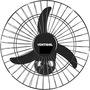 Ventilador de Parede Ventisol Oscilante New Premium Aço Preto 50cm