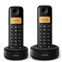 Telefone sem Fio Philips D1302B/BR Identificador de Chamadas + 1 Ramal