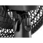 Ventilador de Mesa Arno Turbo Silencio Maxx Preto 30cm TS30 110V