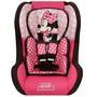 Cadeira Para Auto Disney Trio SP Comfort Minnie Mouse Rosa e Preta Sem Base