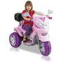 Moto Elétrica Biemme Sprint Custon 6 V Rosa
