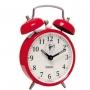 Despertador Mecânico Vermelho Herweg 27685
