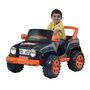 Mini Veículo Biemme Jeep Desert 12V Preto e Laranja