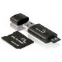 Cartão Micro SD Multilaser 8GB com Adaptador para Pen Drive e SD