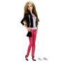 Boneca Barbie Style Luxo Casaco de Couro Mattel