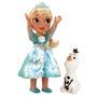 Boneca Frozen Sunny Elsa Neve Brilhante de Luxo