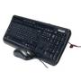 Teclado + Mouse Microsoft Desktop 600 USB Resistente a Liquido